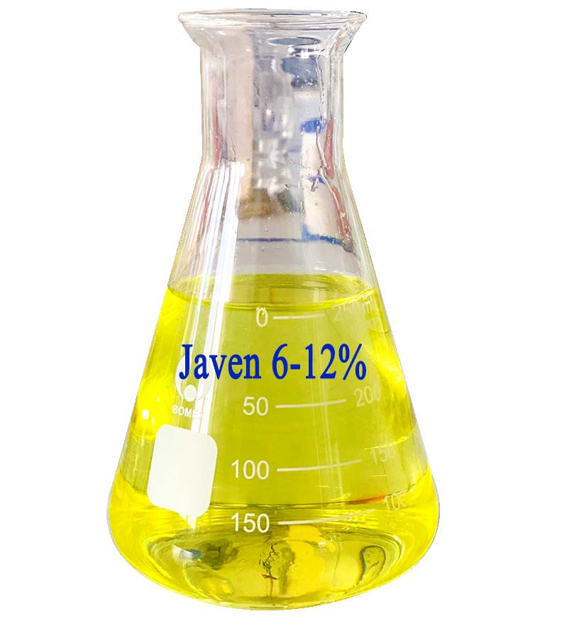 Nước tẩy Javen có hàm lượng từ 6 - 12%